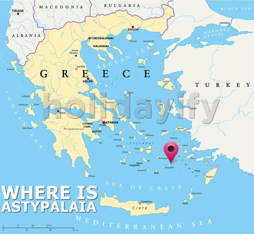 Astipalya nerede