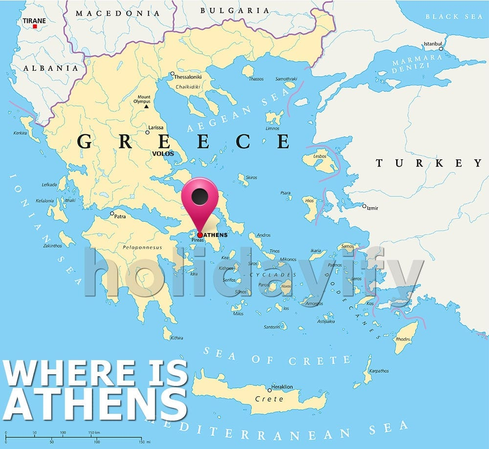 Where is Athens Greece