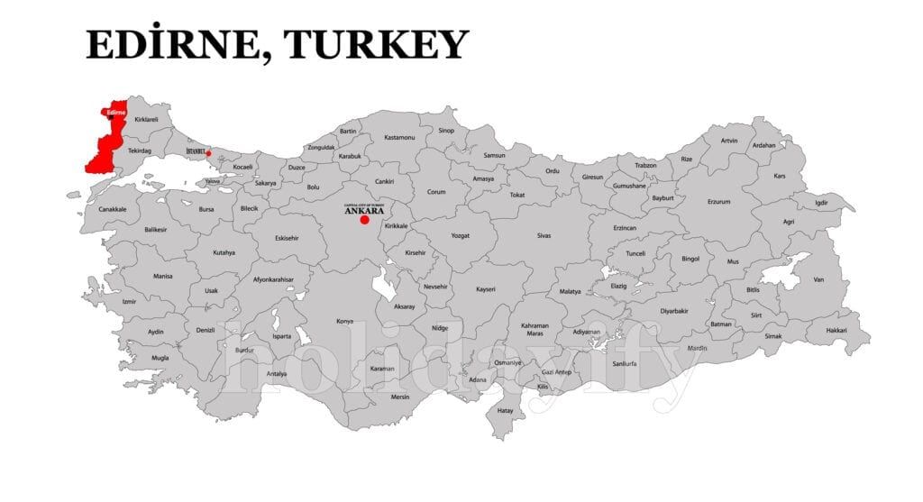Where is Edirne