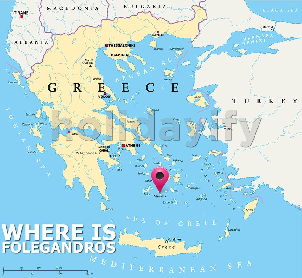 Where is Folegandros Greece
