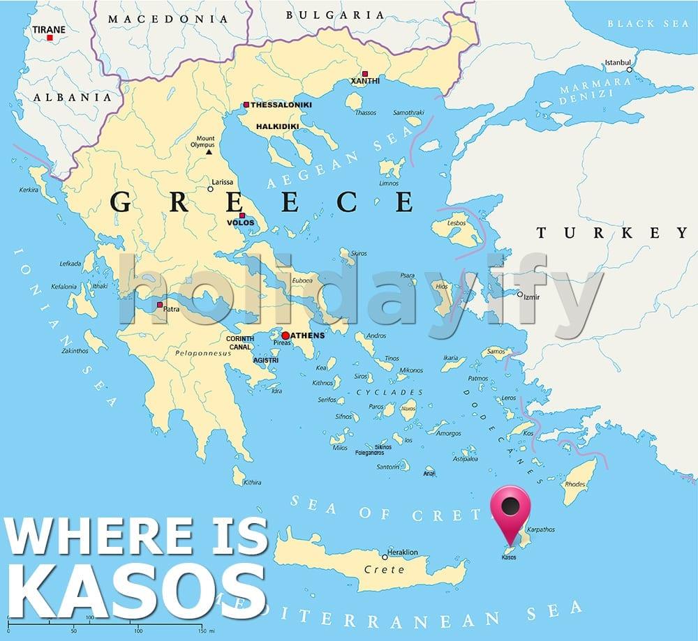 Where is Kasos