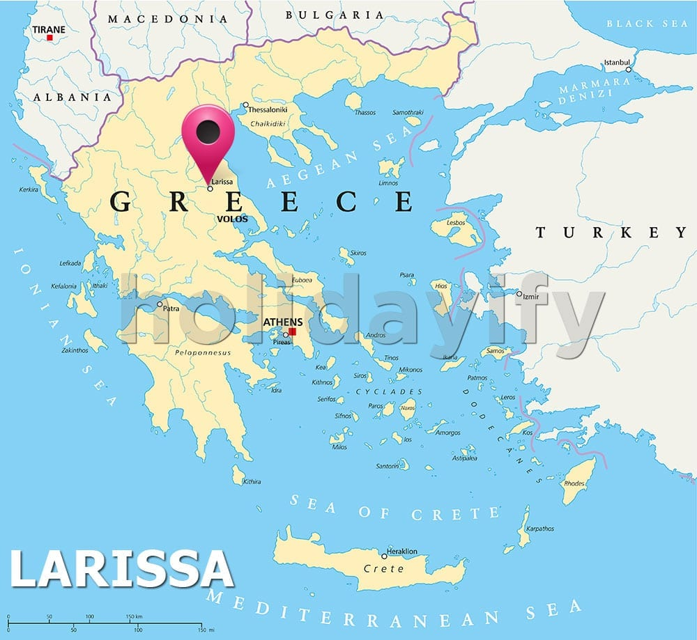 Where is Larissa Greece