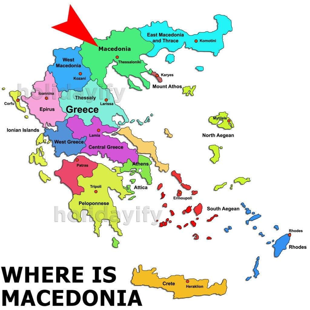 Where is Macedonia