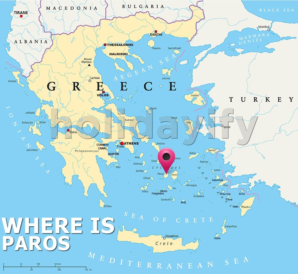 Where is Paros