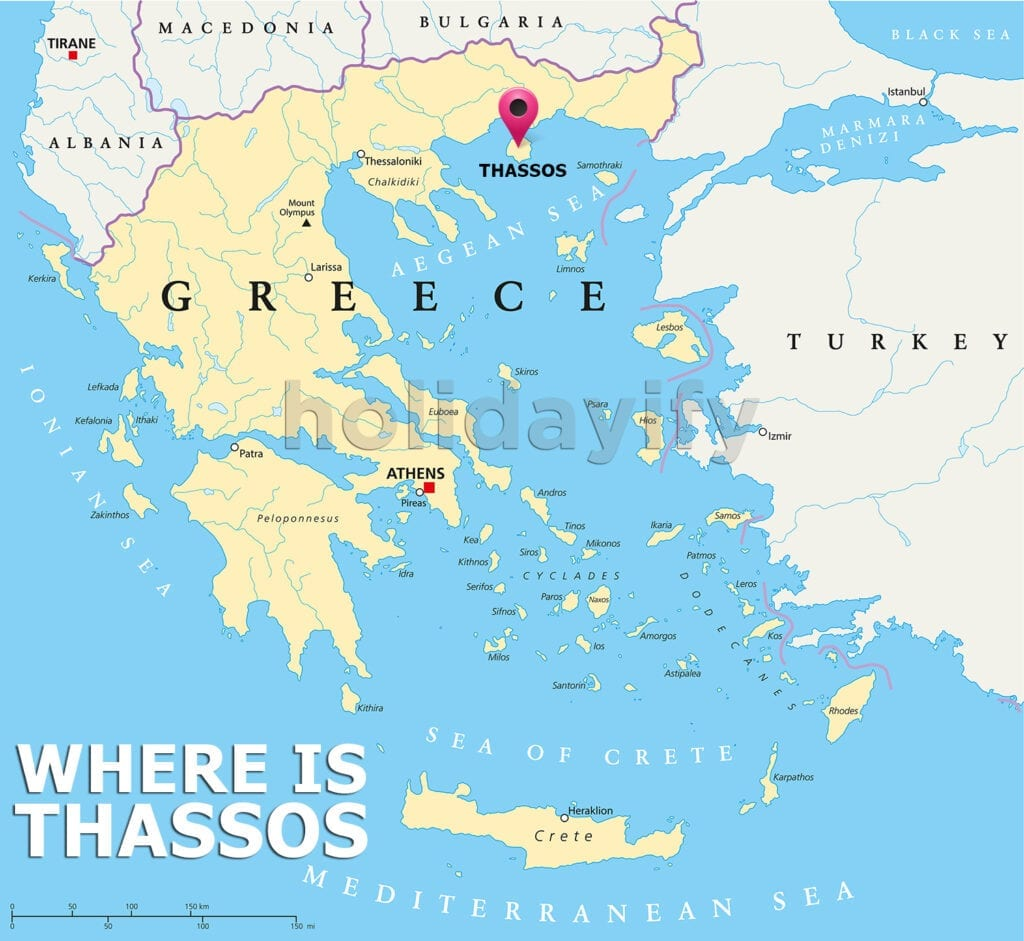 Where is Thassos