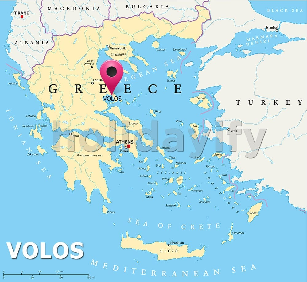 Where is Volos, Greece
