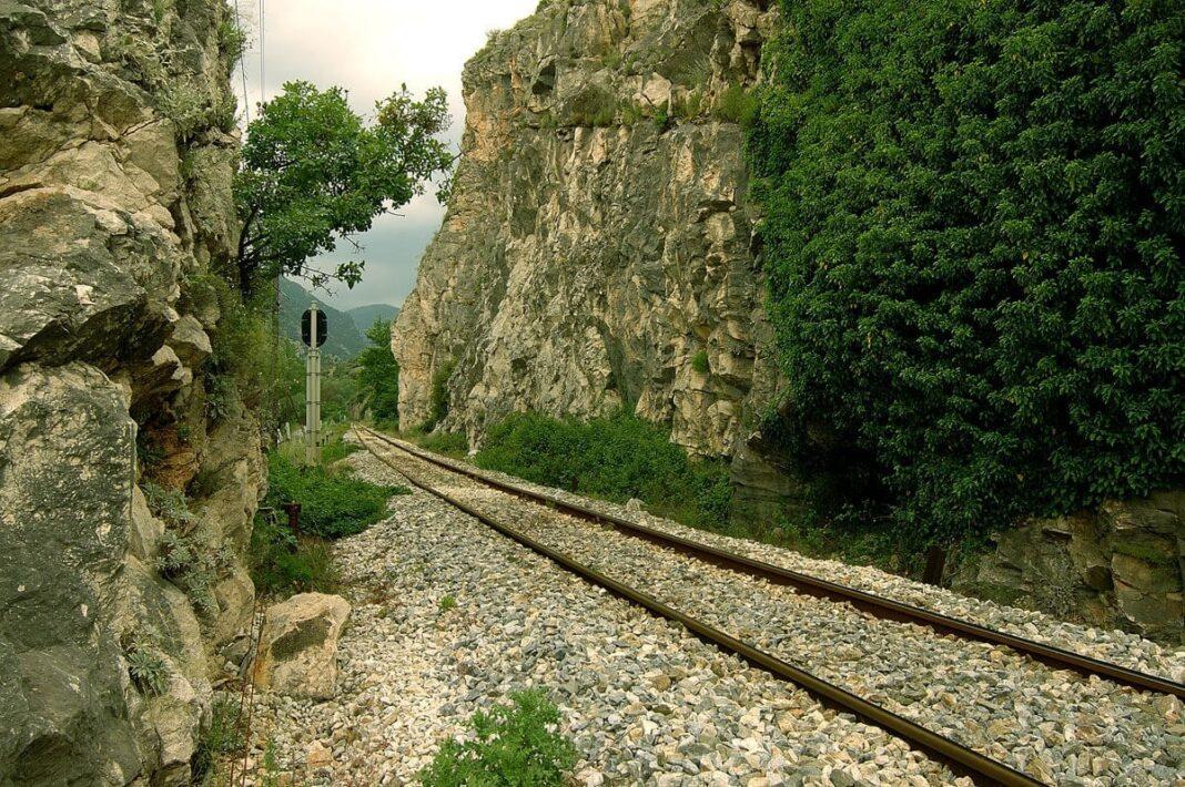 Railway, Nestos River, Xanthi, Greece