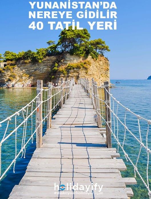 Yunanistan tatil yerleri